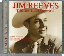 Jim Reeves - The Gentleman Sings - New European Issue CD! 16 Songs!
