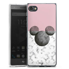 Blackberry Motion Silikon Hülle Case Handyhülle - Mickey Mouse Marmor