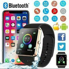 Orologio Bluetooth Smart Watch GT08 Per Samsung Galaxy S7 S8 S9, S9 Plus gold