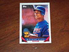 moises alou (montreal expos -of) 1993 TOPPS rookie cup CARD #123 nr/MINT