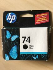 Genuine HP 74 Black Original Ink Cartridge D4260 D4360 Expired
