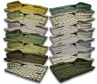 Mens Long Sleeve Quality Country Classics Check Shirts Hunting Fishing S-5XL