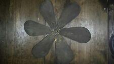 Westinghouse Antique Fan 6 Blade Brass, 12 inch Blade