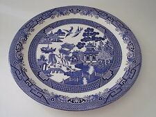 """chop plate 12  1/2"""" CHURCHILL  WILLOW England dishwasher microwave safe"""