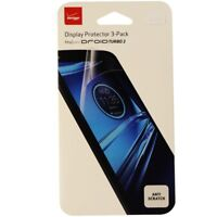 Verizon Display Protector 3 Pack Designed for Droid Turbo 2 - Clear Clarity