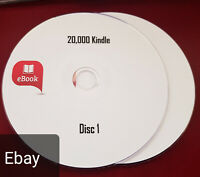 20,000 Kindle mobi formats, mixed genres classic stories ebooks on 2 discs