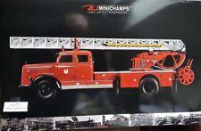 Minichamps 1:43 439350081 MERCEDES BENZ L 3500 DL 17 vigili del fuoco Bensheim NUOVO OVP