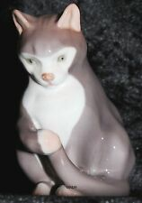"BING&GRONDAHL / ROYAL COPENHAGEN FIGUR #1553  ""CAT SITTING"" TOP 1. WAHL"