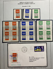 1964 Belfast England First Day Cover Fdc Air Letter Stamps Cambrian Airways