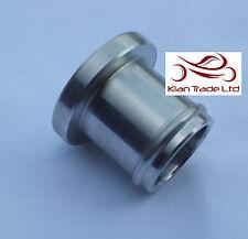 32mm Protección Bung PLUG Recirculación Válvula De Descarga Bov aluminio PLATA -
