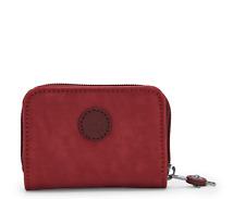 Kipling TOPS Small Purse/Wallet DUSTY CARMINE FW21 RRP £32