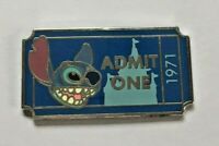 Disney Pin Badge PWP Collection - Admission Ticket - Stitch
