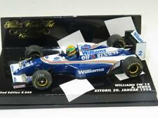 MINICHAMPS 1/43 F1 Car WILLIAMS FW15 Ayrton Senna Estoril Test 1994 MINT Ltd Ed
