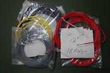 86 12 Ft 18 Awg Stranded 600v Audio Tube Amplifier Teflon Ptfe Wire