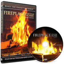 BEST SELLING Classic Crackling Fireplace Edition DVD - #1 on Netflix/Hulu