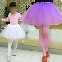 Girl Tutu Ballet Dress Skirt Costume Dancewear Dance Dress 3 Hard Organdy Layers