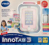 vTech InnoTab 3 Electronic Handheld Learning App Tablet Camera Games Books Music