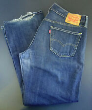 Levi's Red Tab 559 Relaxed Straight Fit Jeans Men Size 36 X 30 Dark Wash