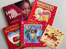 Lot Of Five Valentine's  Children's Books