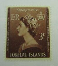 1953 Tokelau Islands SC #4  QUEEN ELIZABETH CORONATION MH stamp