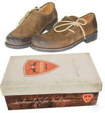 Trachtenschuhe Haferlschuhe 100% Leder Schuhe braun antik gespeckt MADDOX