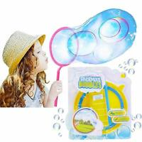 KreativeKraft Giant Bubbles Wand, Bubble Making Kit With Solution Outdoor Games