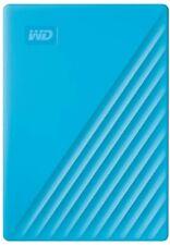 WD 2TB My Passport Portable External Hard Drive, Blue - WDBYVG0020BBL-WESN