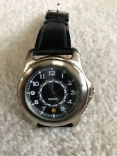 TIMEX JOE BOXER WATCH Black Band W/ SPINNING INNER DIAL NWOT