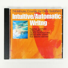 INTUITIVE AUTOMATIC WRITING 74 Minute Course Dick Sutphen Writer Self Hypnosis
