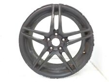 "DK811278 2006 MAZDA 3 18"" ALLOY WHEEL RIM BLACK WRAP AFTERMARKET"