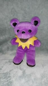 Grateful Dead CASSIDY Plush Bear Purple Beanie Baby vintage vtg steven smith