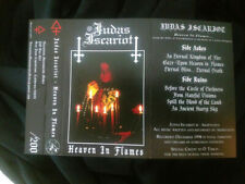 Judas Iscariot - Heaven In Flames - CASSETTE TAPE - Black Metal - NEW COPY