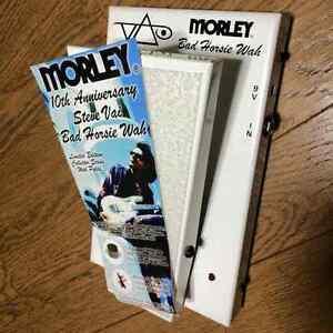 Very Rare! MORLEY Bad Horsie Wah Pedal VAI-10 Steve Vai 100 Limited Model