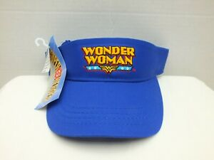 WONDER WOMAN  DC SUPER HEROES ORIGINAL VINTAGE SUN VISOR HAT
