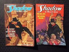 2008 THE SHADOW by Maxwell Grant - Pulp Fiction Reprints #16 17 VF-/VF LOT of 2
