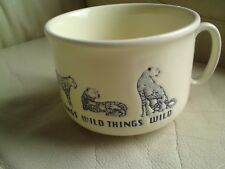 'JUST MUGS' MUG WILD THINGS - MADE IN ENGLAND - collectable - USED,