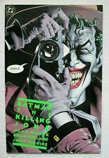 Batman The Killing Joke 1st Print Joker Cover Comic Book by Alan Moore 1988