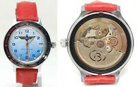 Orologio Vostok Komandirskie automatic diver watch vintage clock caliber 2416b