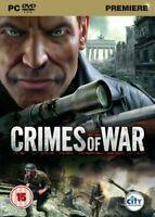 CRIMES OF WAR PC DVD ROM GAME CERT 15