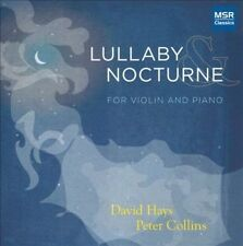 NEW Lullaby & Nocturne - Music for Violin and Piano (Audio CD)