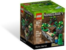 LEGO Minecraft Micro World -21102, Factory Sealed, Brand NEW, Sold Out
