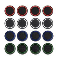 4pcs Silicone Joystick Analog Thumbstick Grip Thumb Stick Cap Cover for PS4 #JT1