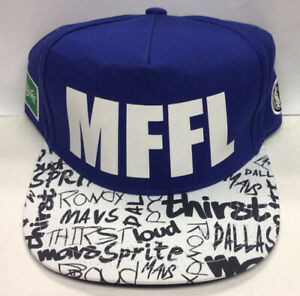 "Dallas Mavericks ""MFFL"" Sprite Snapback Cap Hat"