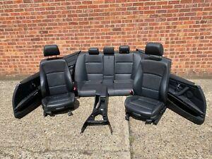 BMW 3 SERIES E90 LCI M SPORT LEATHER COMPLETE SEATS SET OEM