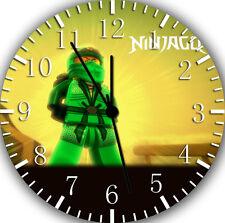 "Lego Ninja Ninjago wall Clock 10"" will be nice Gift and Room wall Decor Z05"