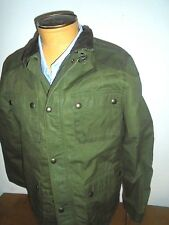 Polo Ralph Lauren Southbury Wax Cotton Field Moto Style Jacket NWT XL 18-20 $175