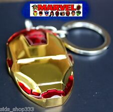 Marvel Comics IRON MAN The Avengers Shield Movie Full metal Key chain cosplay US