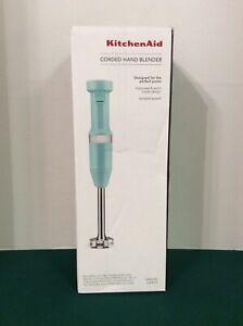 KitchenAid Variable Speed Corded Hand Blender, KHBV53 Ice Blue