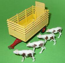 Corgi / 58 Beast Carrier Trailer & Four Calves