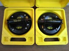 2 WPG Woods Power Grip G0695 Suction Cup Vacuum Tools in Cases Work Great